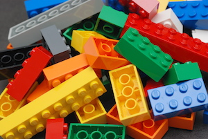 plastic injection molded lego bricks
