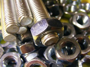 Threaded Steel Bolts and Nuts