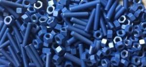 Halar ECTFE Coated fasteners