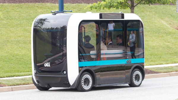 Olli -ABS Plastic vehicle