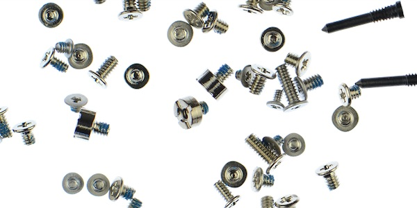 Screws and Fasteners in an iPhone