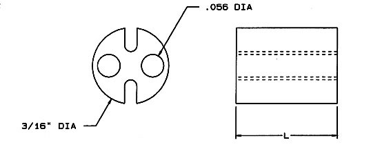 LED Spacer Dimensions