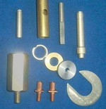 Custom metal machined fasteners