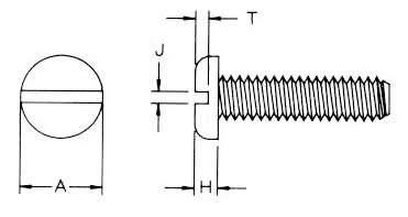 Pan Slt Metric Machine Screw Dimensions