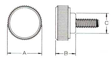 Metric Round Head Screw Dimensions